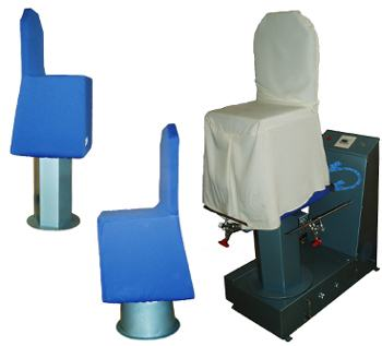 Steamer designed exclusively for dining chair covers