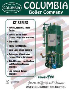 Columbia CT Series Boilers