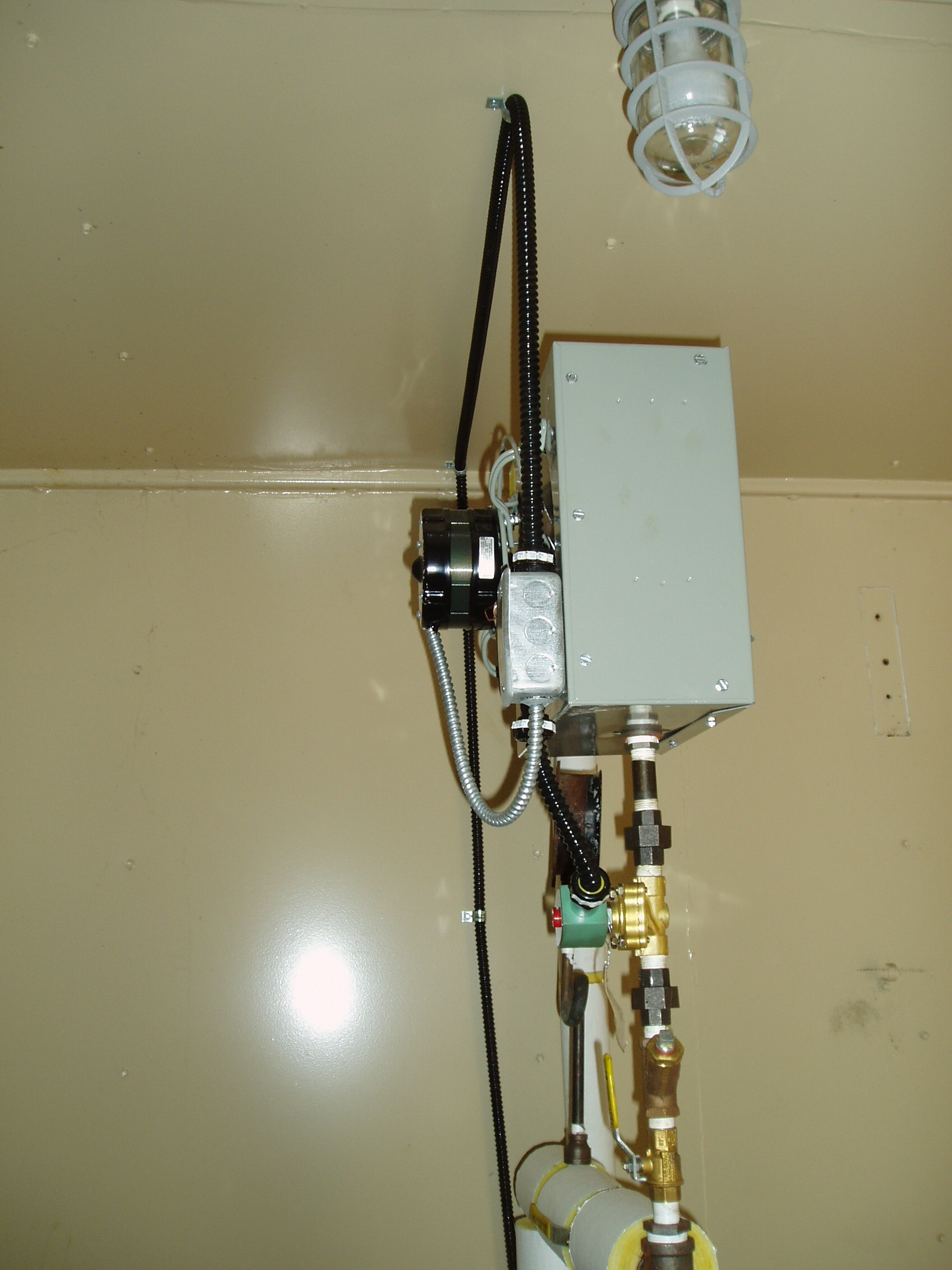 Automation of Water Tower Boiler System