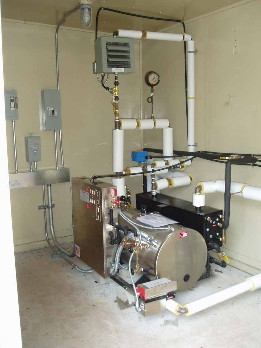 Water Tower Boiler System