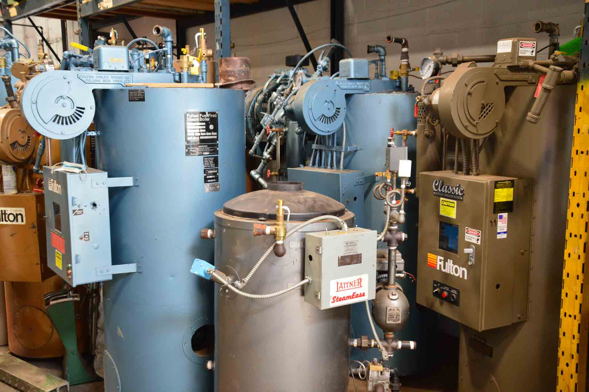 Steam Boilers Gas Fired